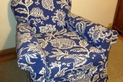 Blu chair after