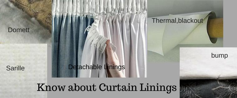 Understanding Curtain Linings